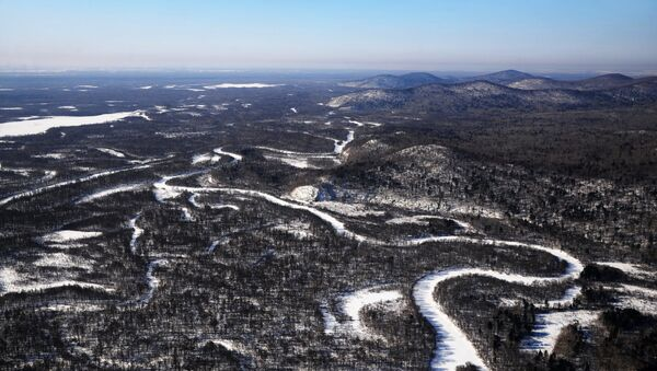 El paisaje de la región de Jabárovsk - Sputnik Mundo
