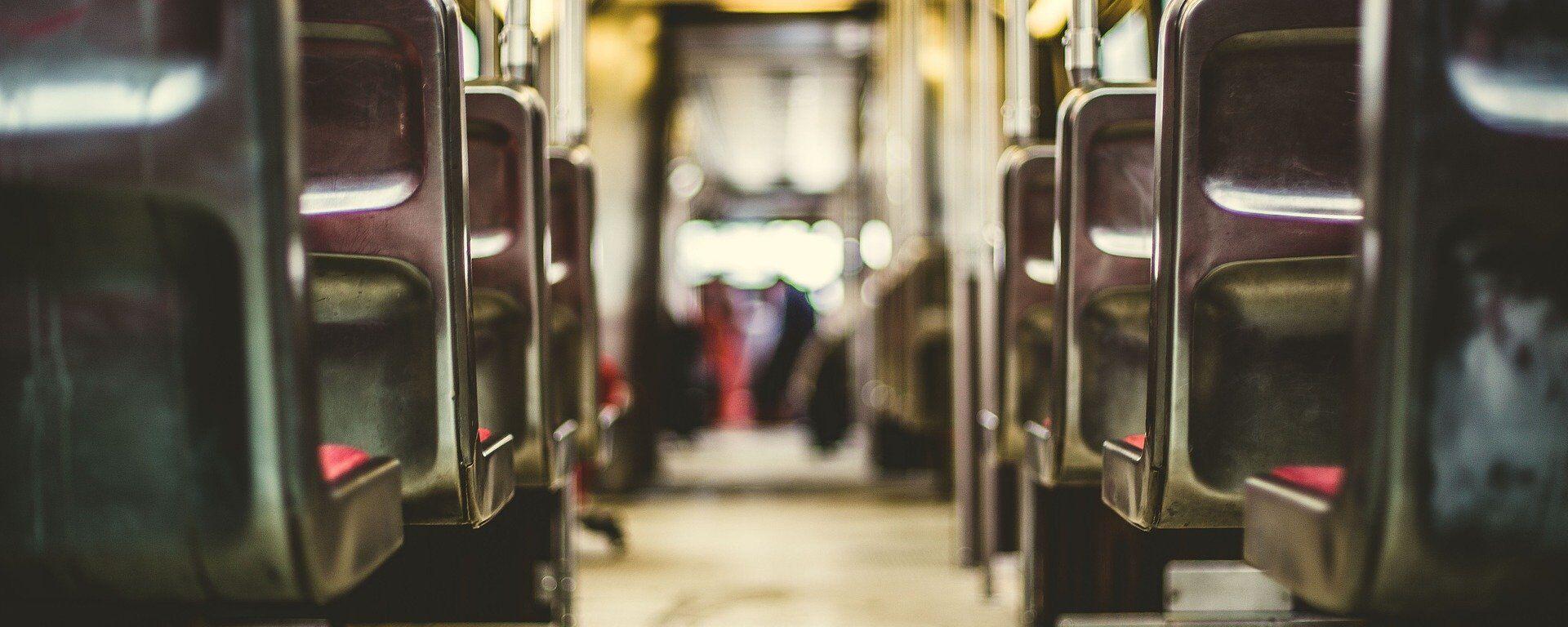 Dentro de un autobús (imagen referencial) - Sputnik Mundo, 1920, 21.04.2021