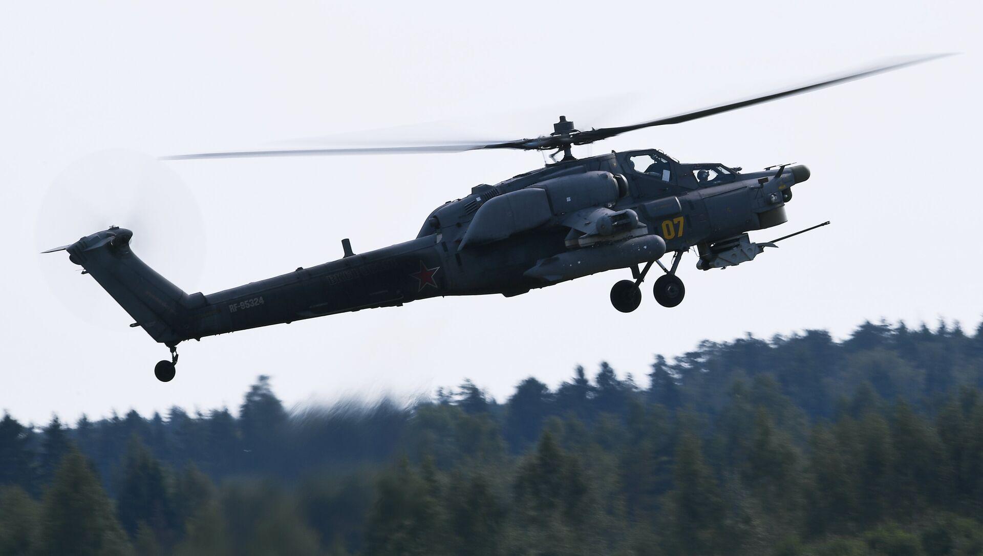 Helicóptero de ataque Mi-28N Cazador Nocturno, foto archivo - Sputnik Mundo, 1920, 25.12.2018