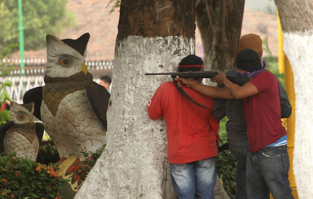 Las protestas antigubernamentales en Nicaragua alcanzaron su máximo auge en el mes de junio. Durante todo el año, cientos de personas han muerto y miles han resultado heridas, en ambas partes del conflicto civil.