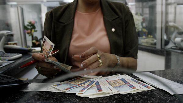 Pesos cubanos - Sputnik Mundo