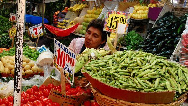 Un mercado en Puebla, Mexico - Sputnik Mundo