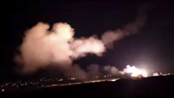 Ataque de Israel contra Siria (archivo) - Sputnik Mundo