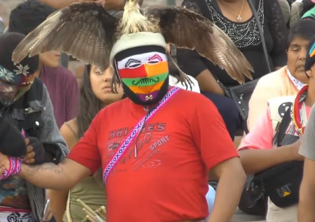 El festival de peleas Takanakuy en Perú