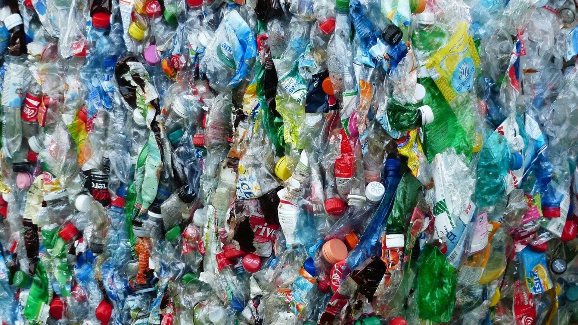 Botellas de plástico (imagen referencial) - Sputnik Mundo, 1920, 20.05.2021