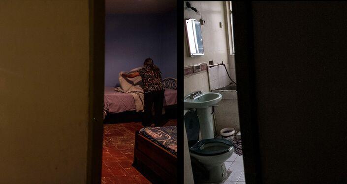 Departamento del edificio Zapata #68 antes y después de ser desalojado
