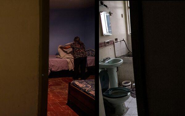 Departamento del edificio Zapata #68 antes y después de ser desalojado - Sputnik Mundo