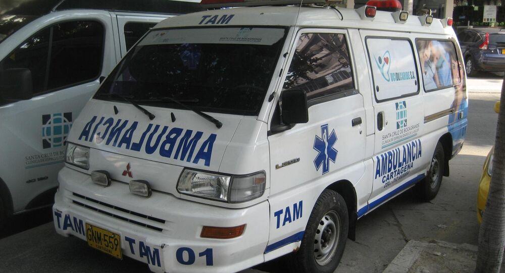 Ambulancia colombiana