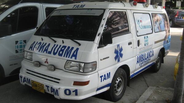 Ambulancia colombiana - Sputnik Mundo
