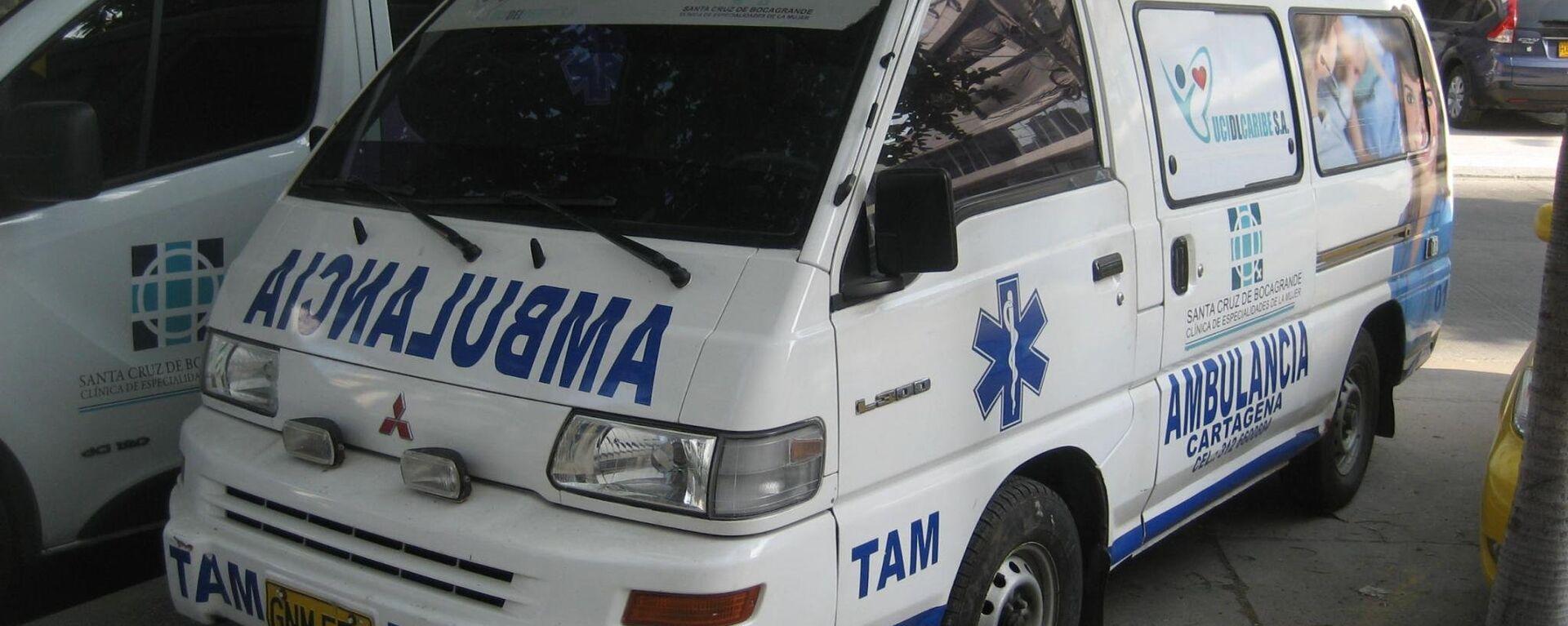 Ambulancia colombiana - Sputnik Mundo, 1920, 30.04.2021