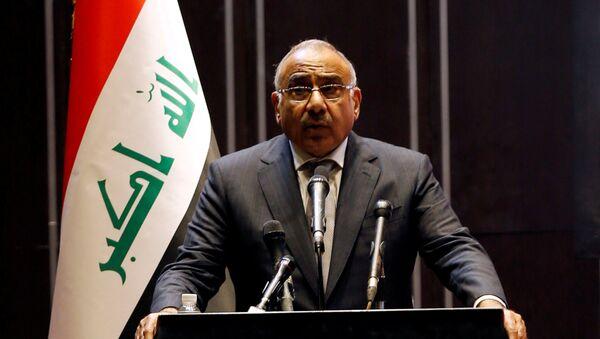 Adel Abdul Mahdi, primer ministro iraquí - Sputnik Mundo