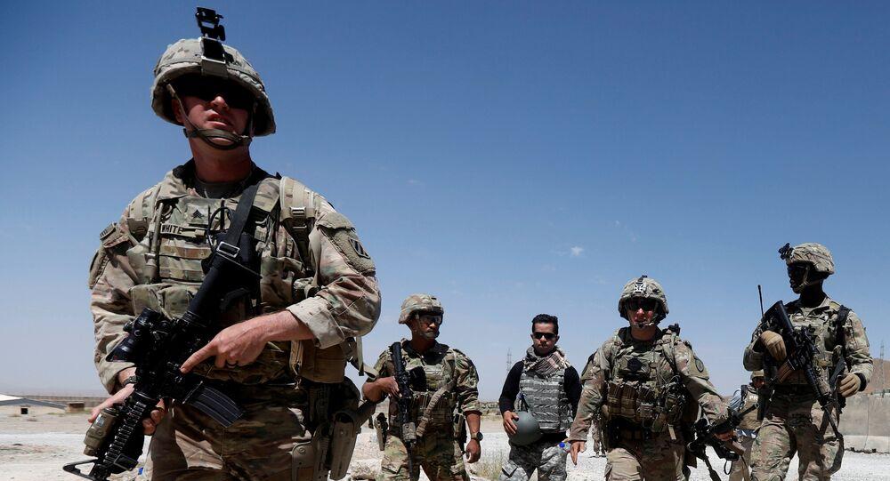 Los soldados estadounidenses en Afganistán