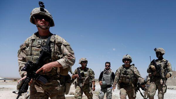 Los soldados estadounidenses en Afganistán - Sputnik Mundo