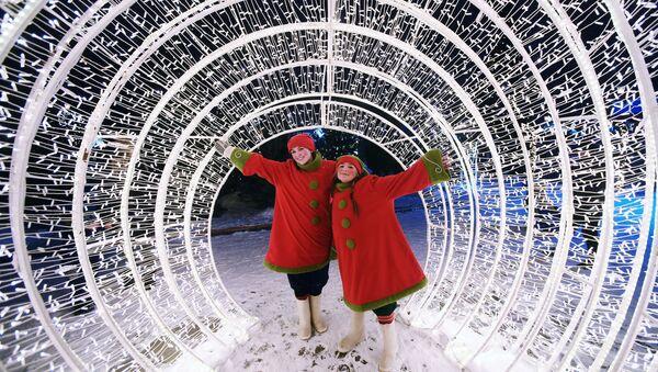 Rusia celebra a lo grande los festejos de fin de año - Sputnik Mundo