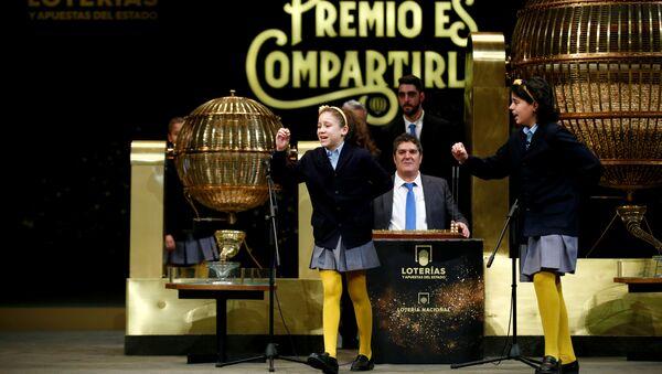 'El Gordo', el sorteo más importante del año en España - Sputnik Mundo