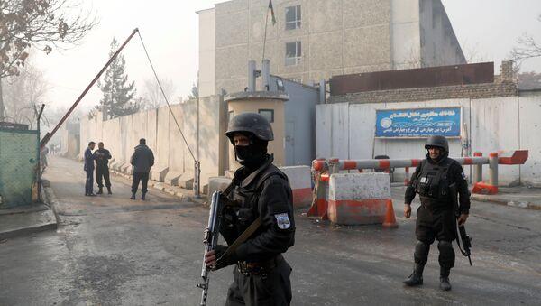 Un guardia de seguridad de Afganistán - Sputnik Mundo