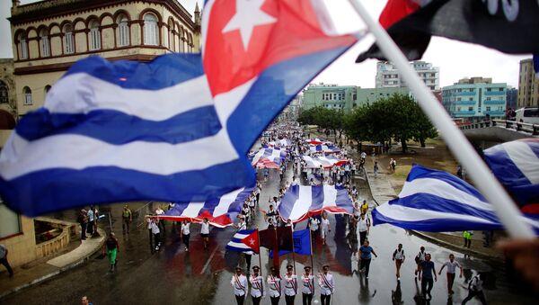 Las banderas cubanas - Sputnik Mundo
