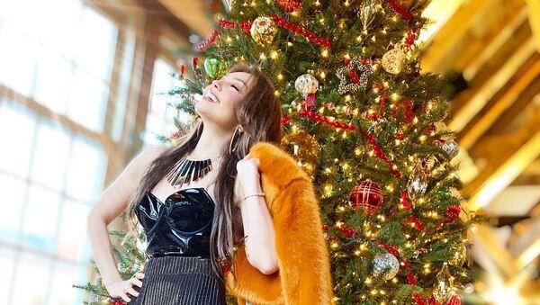 La cantante mexicana Thalía - Sputnik Mundo