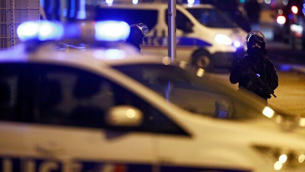 Policía de Francia (Archivo) - Sputnik Mundo