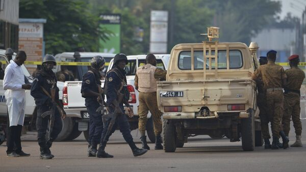 Fuerzas de seguridad en Burkina Faso (Archivo) - Sputnik Mundo