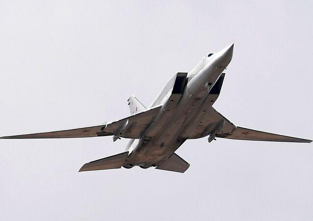Bombardero ruso Tu-22M3 (archivo)