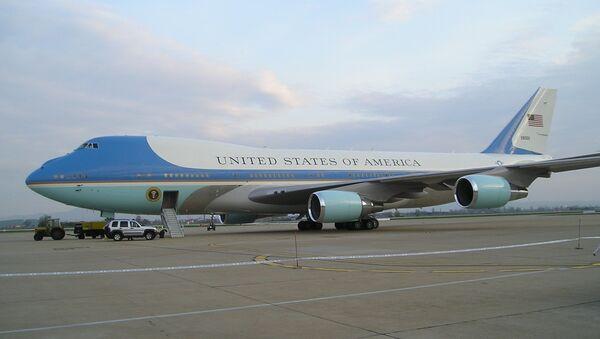 Air Force One, avión presidencial de EEUU, foto archivo - Sputnik Mundo