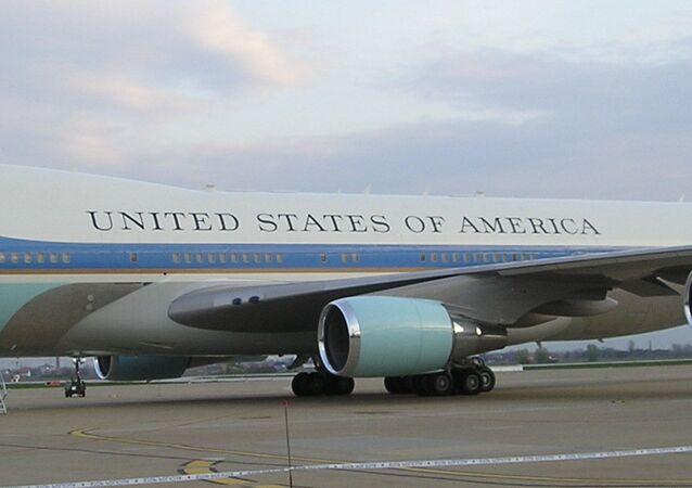 Air Force One, avión presidencial de EEUU, foto archivo