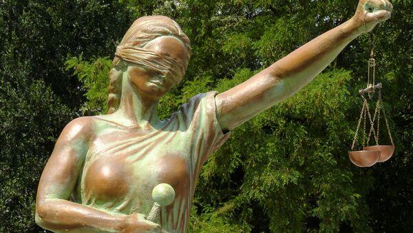 La estatua de la Justicia (imagen referencial) - Sputnik Mundo