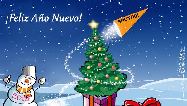 Sputnik desea a todos sus lectores un muy feliz Año Nuevo - Sputnik Mundo