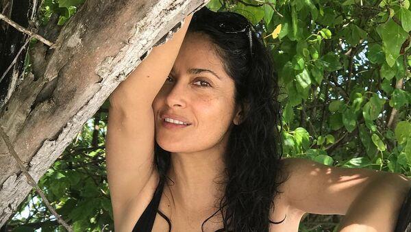 Salma Hayek, la actriz mexicana - Sputnik Mundo
