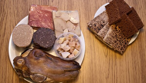 Smalahove, o cabeza de una oveja, plato tradicional en Noruega y otros países escnadinavos - Sputnik Mundo