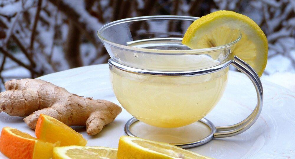 Té de jengibre con limón