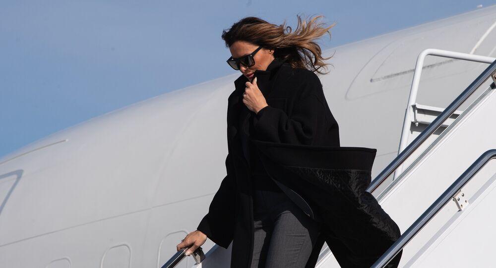 Melania Trump, primera dama estadounidense