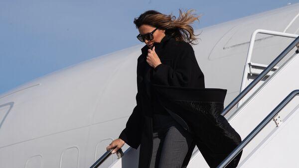 Melania Trump, primera dama estadounidense - Sputnik Mundo