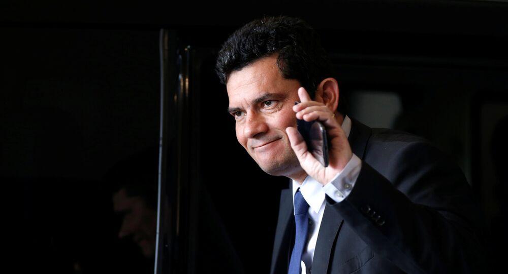 Sergio Moro, ministro de Justicia de Jair Bolsonaro