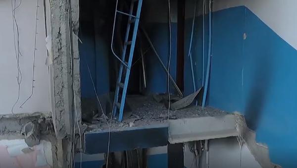 Esto es lo que se queda del edificio derrumbado en Magnitogorsk - Sputnik Mundo