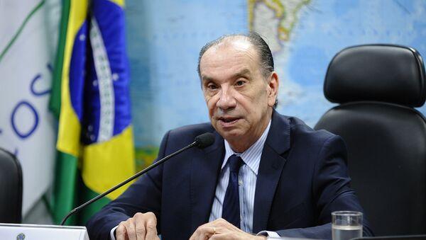 Aloysio Nunes, excanciller brasileño - Sputnik Mundo