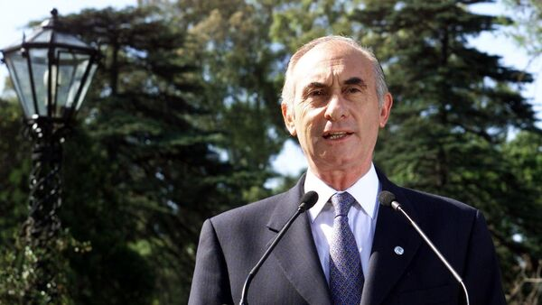 Fernando De la Rúa, expresidente de Argentina - Sputnik Mundo