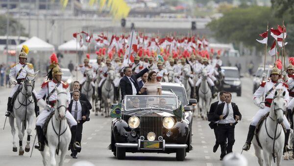 La investidura de Bolsonaro como presidente de Brasil - Sputnik Mundo