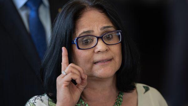 Damares Alves, ministra de Mujer, Familia y Derechos Humanos de Brasil - Sputnik Mundo