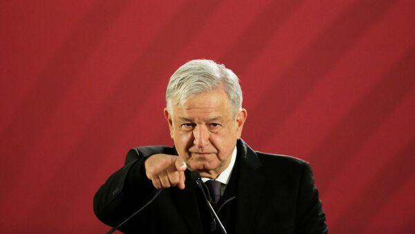 Andrés Manuel López Obrador, presidente de México - Sputnik Mundo