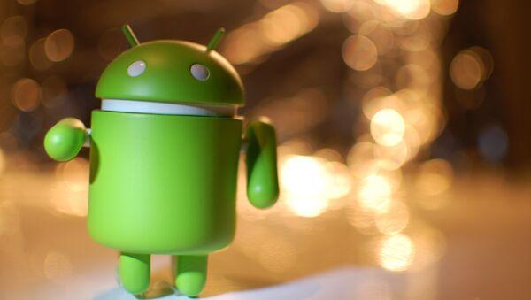 Logotipo de Android, foto archivo - Sputnik Mundo