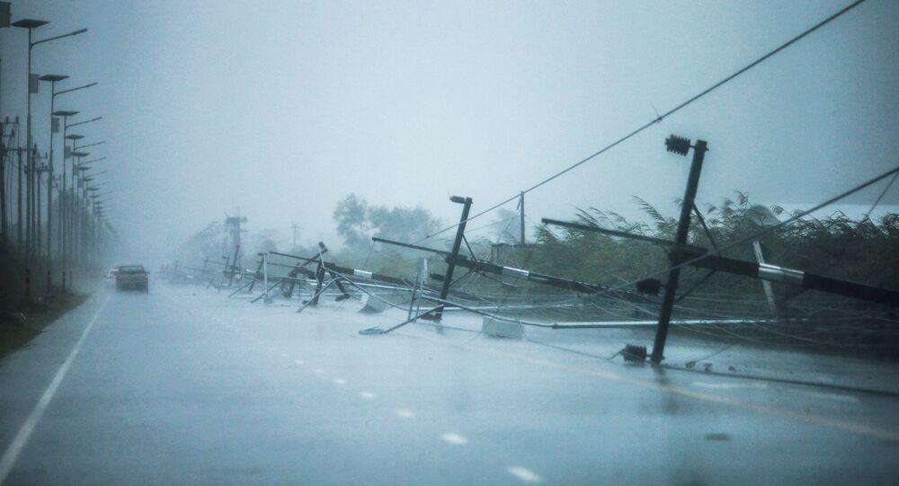 Las consecuencias de la tormenta Pbuk en Tailandia