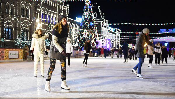 La pista de patinaje central de Moscú - Sputnik Mundo