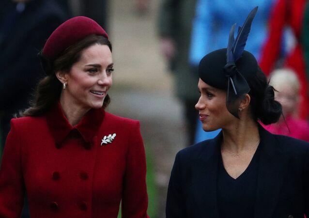 Meghan y Kate, las duquesas de Cambridge y de Sussex