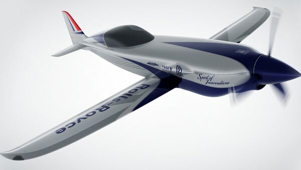 Avión eléctrico Rolls-Royce Accel - Sputnik Mundo