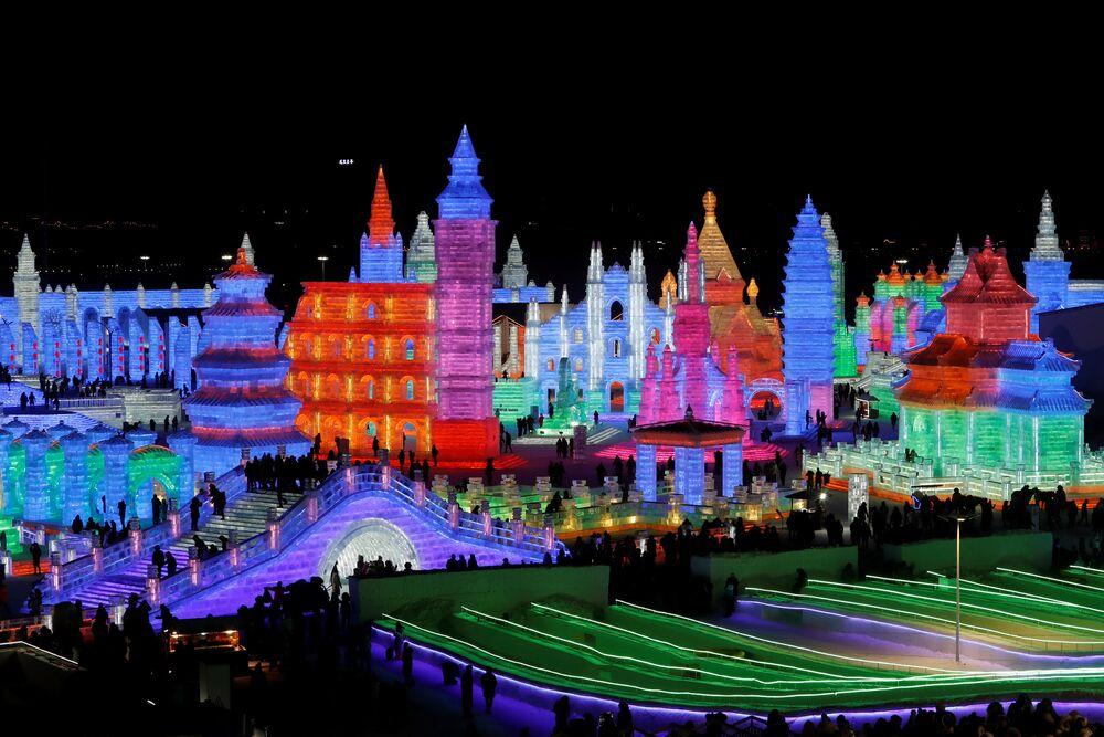 Festival Internacional de Hielo y Nieve de Harbin, China