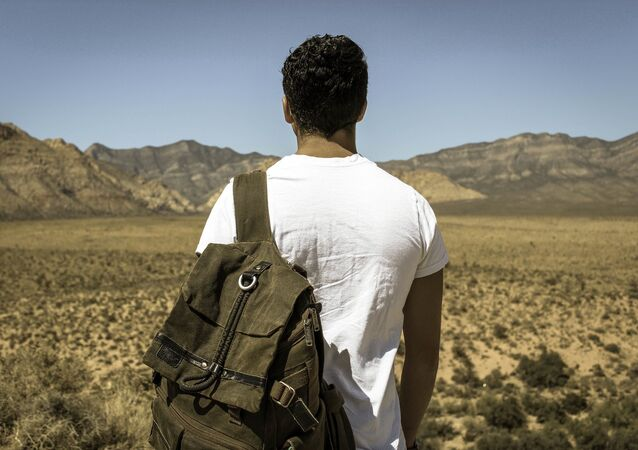 Un turista (imagen referencial)
