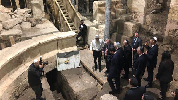 El consejero de Seguridad Nacional de EEUU, John Bolton, en Jerusalén - Sputnik Mundo