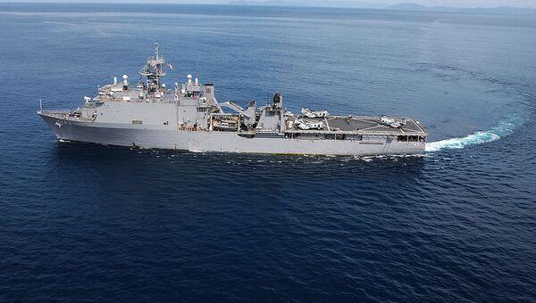 Buque USS Fort McHenry (archivo) - Sputnik Mundo